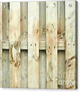 Grungy Old Fence Background Acrylic Print