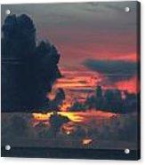Guamanian Sunset 1 Acrylic Print