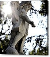 Guardian Angel With Light From Above Acrylic Print