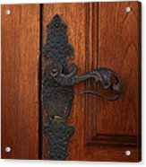 Guatemala Door Decor 5 Acrylic Print
