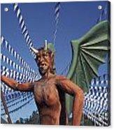 Guatemala Winged Devil Acrylic Print