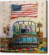 Guest Bedroom Acrylic Print