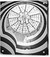 Guggenheim Museum Bw200 Acrylic Print by Scott Kelley
