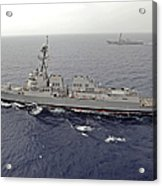 Guided Missile Destroyers Uss Dewey Acrylic Print