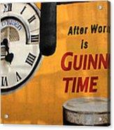 Guinness Beer 1 Acrylic Print