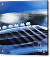Guitar Abstract 4 Acrylic Print