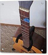 Guitar Slant Acrylic Print