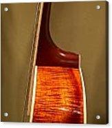 Guitar Wood Grain Exposed Acrylic Print