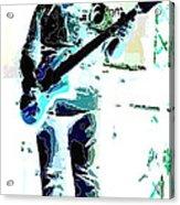 Guitarrist Acrylic Print by David Alvarez