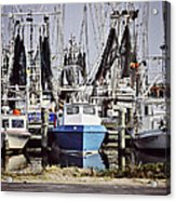 Gulf Boats Acrylic Print