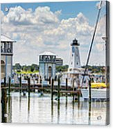 Gulfport Harbor Acrylic Print