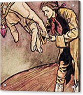 Gulliver In Brobdingnag Kissing The Hand Of The Queen Acrylic Print