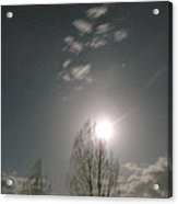 Gunnison Full Moon Acrylic Print