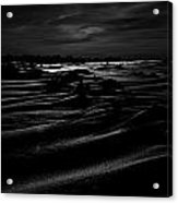 Gust Of Black Acrylic Print
