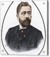 Gustave Eiffel, French Architect Acrylic Print