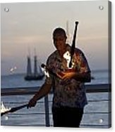 Guy Collins At Key West Acrylic Print