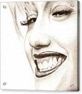 Gwen Stefani Acrylic Print