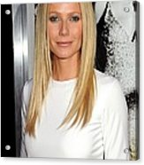 Gwyneth Paltrow At Arrivals For Country Acrylic Print
