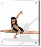 Gymnast Does The Splits  Acrylic Print by Ilan Rosen