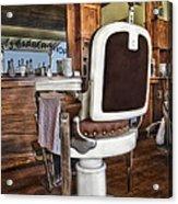 H J Barber Shop Acrylic Print