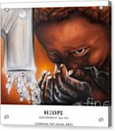 H2ope Acrylic Print