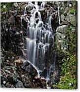 Hadlock Falls Acadia Acrylic Print
