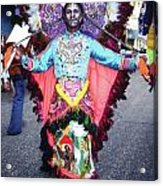 Haiti - Carnaval Indian Outfit Acrylic Print