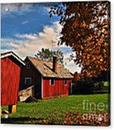 Hale Farm In Autumn Acrylic Print