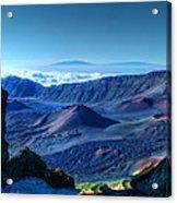 Haleakala Crater 1 Acrylic Print by Ken Smith