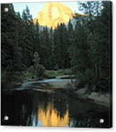 Half Dome Reflection Acrylic Print