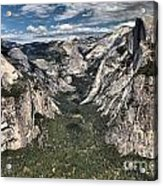 Half Dome Valley Acrylic Print