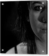 Half Portrait Acrylic Print