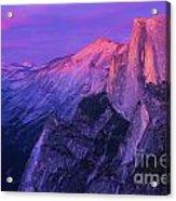 Half Purple Dome Acrylic Print