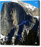 Half Way Half Dome Acrylic Print