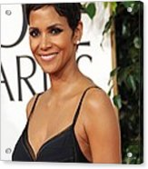 Halle Berry At Arrivals For The Acrylic Print