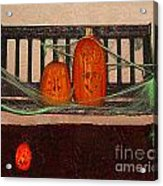 Halloween Decoration Acrylic Print