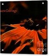 Halloween Greetings Acrylic Print