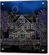 Halloween Haunt Acrylic Print
