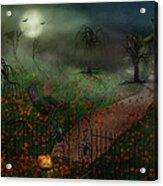 Halloween - One Hallows Eve Acrylic Print