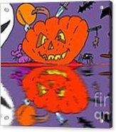 Halloween Reflections Acrylic Print