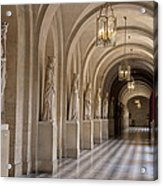 Hallway In Palace Of Versaille Acrylic Print