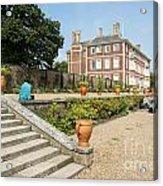 Ham House - Gardens Acrylic Print by Donald Davis