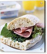 Ham Sandwich Acrylic Print
