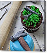 Hammer Cupcake Acrylic Print