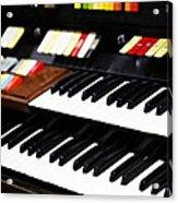 Hammond Electric Organ Acrylic Print