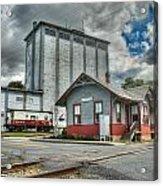 Hampstead Train Station Acrylic Print