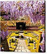 Hampton Court Gardens IIi Acrylic Print