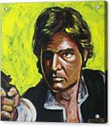 Han Solo Acrylic Print