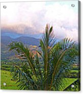 Hanalei Panorama Kauai Acrylic Print