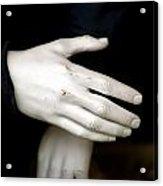 Hand Practice Acrylic Print